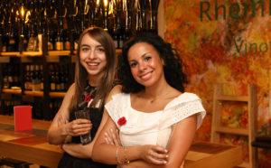 Jessica Kovacs und Sabrina Mecheri