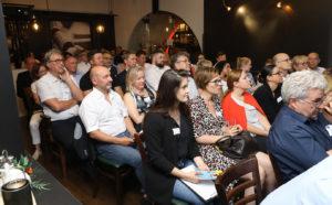 Publikum beim Personalexpertennetzwerktreffen