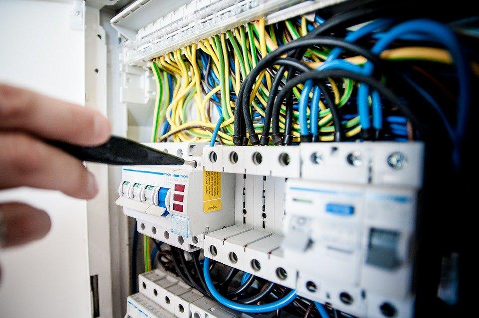 Elektro, Strom, Gebäude, Baumeister, Reparatur