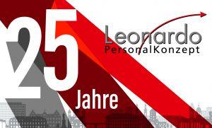 Logo 25 Jahre PersonalKonzept GmbH