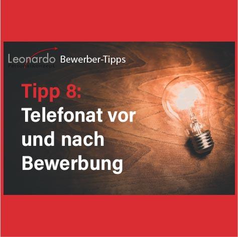 Tipp 8: telefonat ja oder nein